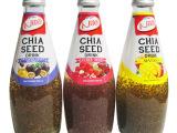 泰国原装进口Nit奇亚籽瓶装果味饮料
