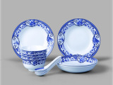 事事如意餐具 瓷器茶具 创意瓷器 餐具瓷器 高档瓷器工艺品摆件