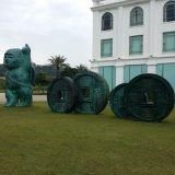 广州城市雕塑玻璃钢厂家玻璃钢仿铜雕塑加工厂贵阳