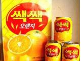 韩国原装进口饮料 LOTTE乐天粒粒橙汁果肉果汁