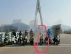 越野摩托车。