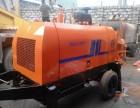 出租出售租赁赣州拖泵地泵车载泵泵车
