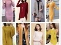 秋款正品羊绒衫女圆领短款宽松毛衣外套羊绒开衫