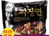 韩国进口拉面八道李延福炸酱面干拌面速食方