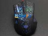 6D 四档调速 艾斯邦A0002有线鼠标 游戏鼠标 USB电脑鼠