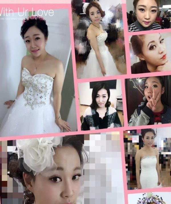 新娘造型,舞台妆,晚宴妆图片