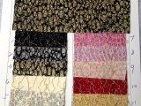 2014广州花都狮岭厂家特价热销pu皮革箱包鞋材珠光蕾丝皮革