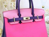 罗维雅H家最新款铂金包原版真皮女包荔枝纹包包厂家货源奢侈品