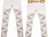 品牌新品2014男装休闲裤 西亚棉直筒薄款长裤休闲 修身时尚休闲