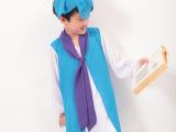 儿童古装服饰 古代书生服男女童书童服三字经弟子归服装汉服定做