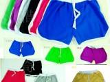 女运动短裤夏女休闲家居健身女瑜珈裤沙滩裤健身短裤跑步热裤女棉