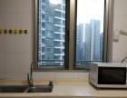 世界金融中心蛋壳公寓直租 押一付一 房间实拍 高层电梯
