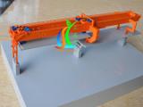 北京模型设计公司专业制作重型架桥机模型 金属机械模型