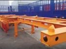 20英尺40英尺集装箱骨架运输半挂车 梁山厂家直销1年1万公里面议