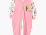 厂家直销秋款婴儿服装纯棉 卡通婴儿连体衣 爬服哈衣批发