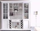 江阴米多装饰酒柜案例赏析 酒柜该怎么装更有范