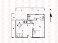 金汇城市广场 1500元 1室1厅1卫 精装修,家具家电齐全