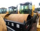 青岛二手22吨压路机出售-个人26吨价格多少转让