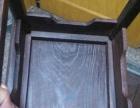 鸡翅木方桌和小方凳