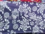 批发棉布布料 1.6米仿蜡染蓝印花布 全棉平纹棉布95cm=1码