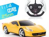 最热销儿童玩具 升级版114超大法拉利带充电 全比例遥控车模型