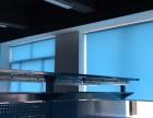 昆山花桥窗帘定做电话安亭商务楼遮光遮阳卷帘铝百叶电动窗帘定做