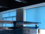 卢湾区铝百叶窗帘定做卢湾定做办公室遮光卷帘垂直帘阳光房窗帘