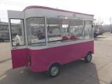 厂家直销定做电动小吃车 流动早餐车 快餐售货车