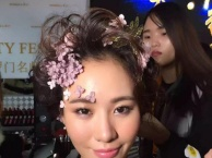 V彩造型 新娘跟妆 彩妆培训