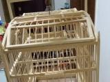做工仔细自作鸟笼