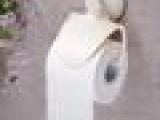 厂家直销 居家卫浴用品 塑料超强吸盘防水卷纸架