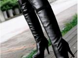 2013秋冬新款长筒靴过膝长靴高跟过膝长靴女靴超显瘦修腿长筒靴