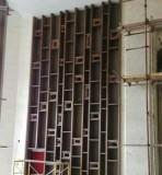 供应城都不锈钢屏风 不锈钢装饰屏风 彩色金属隔断屏风
