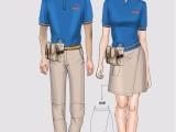 重庆巴南餐饮服装定制,巴南服务员工作服价格