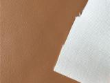 棕色纳帕纹PU PU皮革 电子包装皮套、