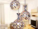 现代餐吊灯梅花球灯工艺铝材酒吧灯餐厅灯节
