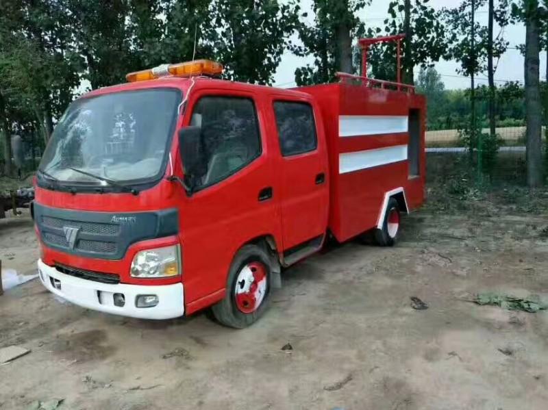转让救援二手消防车 民用水罐消防车 部队退役消防车 3吨5吨