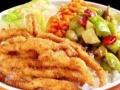 AAA金牌外卖王小馋猫烤肉拌饭奥尔良鸡腿饭卤肉饭等