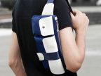 批发男包2014新款男士胸包 男 腰包 时尚韩版休闲包运动潮男包包