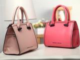 厂家批发订做秋季欧美时尚大牌纯色 OL通勤包 手提单间斜挎包