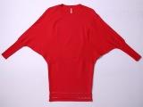 2014欧美大牌女装冬装新款  蝙蝠袖包臀 针织打底衫连衣裙