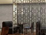 武汉简约304不锈钢亮面玫瑰金屏风隔断价格及图片