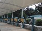 山东遮阳车棚制造专家 膜结构自行车棚
