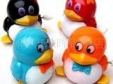 批发供应上链走路QQ企鹅玩具发条上链企鹅