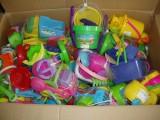 供应广东澄海玩具一手货源 库存积压玩具按斤批 挑选沙滩类玩具
