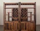 老船木展示柜文件柜隔断博古架多宝阁书架储物架地柜酒柜红酒柜