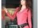 现货团批 2011秋冬 时尚气质修身显瘦 V领连衣裙 1103