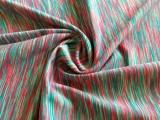 厂家提供七彩断染布 彩虹布 运动健身瑜伽服面料
