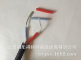 厂家特价2芯护套加厚电线2*0.5外径8.5 黑色高压电缆线