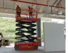 佛山南海小型电动升降机出租 室内机电作业6米升降机出租